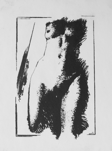 Figure 1, Dry Point by Ulyana Gumeniuk