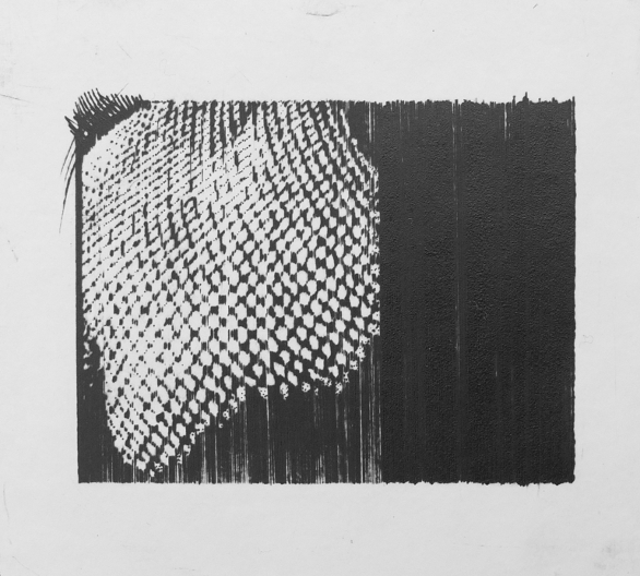 Forms 1, Dry Point by Ulyana Gumeniuk