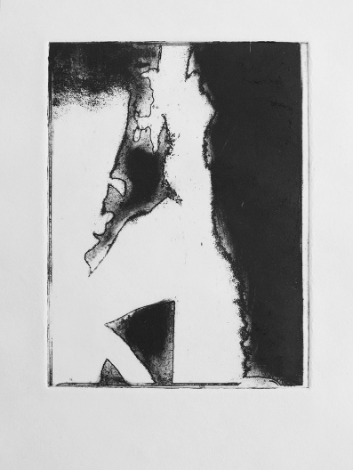Forms 2, Dry Point by Ulyana Gumeniuk